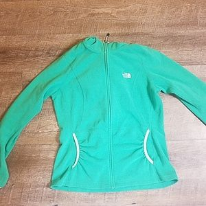 The North Face Green Polyester Jacket Size Medium